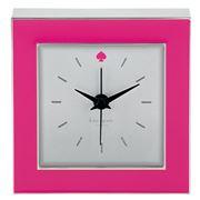 Lenox - Kate Spade Cross Pointe Pink Clock