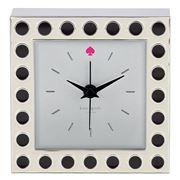 Lenox - Kate Spade Cross Pointe Spots Clock