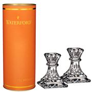 Waterford - Giftology Lismore Candlestick 10cm Set 2pce