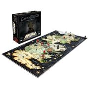 Games - Game of Thrones 3D Jigsaw Puzzle of Westeros 1400pce