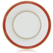 Raynaud Limoges - Cristobal Rouge Banded Dinner Plate