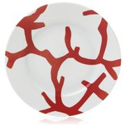 Raynaud Limoges - Cristobal Rouge Dessert Plate