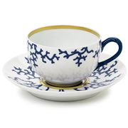 Raynaud Limoges - Cristobal Marine Teacup & Saucer Set