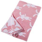 Little Bonbon - Bunny Pink Baby Blanket