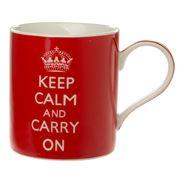 The Leonardo Collection - Keep Calm and Carry On Mug