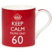 The Leonardo Collection - Keep Calm You're Only 60 Mug