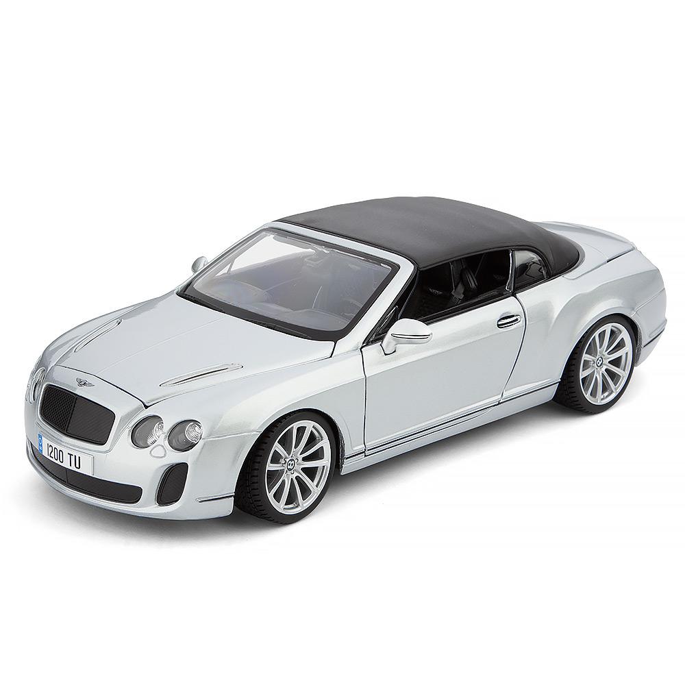 Bentley Continental Gt White Supersport Car For Sale: Bburago - Bentley Continental Supersport