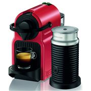 Breville - Nespresso Inissia Coffee Machine Ruby Red BEC200X