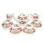 Royal Albert - Lady Carlyle Tea Set 11pce