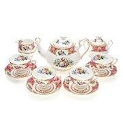 Royal Albert - Lady Carlyle Tea Set 11pce