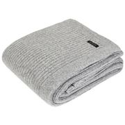 Bemboka - Merino Wool Rib Grey Throw Rug