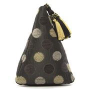 ART - Pyramid Doorstop Dotti Grey