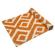 Madras - Aclan Orange Table Runner