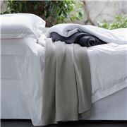 Linen & Moore - Ethan Dark Grey Blanket