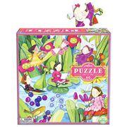 eeBoo - Fairies By the Pond Jigsaw Puzzle 64pce