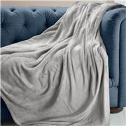 Brogo - Luxe Supersoft Micro Mink Dove Blanket