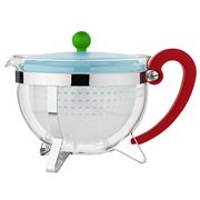 Bodum - 70 Years Chambord Teapot Pale Blue & Green
