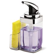 Simplehuman - Precision Chromed Soap Pump with Caddy