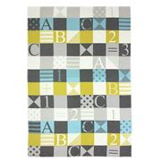 David Fussenegger - Patchwork ABC Blues Blanket