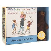 Book - We're Going On A Bear Hunt Book & Toy Gift Set