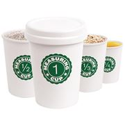 Kikkerland - Nesting Measuring Coffee Cup Set 5pce