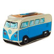 Monster Factory - VW Blue Camper Van Insulated Lunch Bag