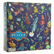 eeBoo - Lots of Robots Jigsaw Puzzle 64pce