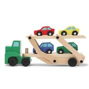 Melissa & Doug - Classic Toys Car Carrier Set 5pce
