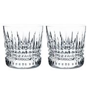 Waterford - Lismore Diamond Old Fashioned Set 2pce