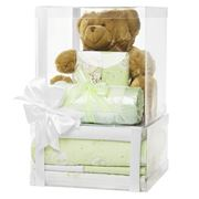 Boz - Deluxe Lime Green Baby Nursery Hamper