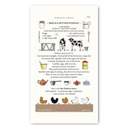 Rodriquez - Red Tractor Bread & Butter Pudding Tea Towel