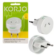 Korjo - Italy & Switzerland Adaptor Plug