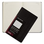 Moleskine - 2015 Daily Hardcover Large Black Diary