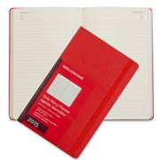 Moleskine - 2015 Daily Hardcover Large Red Diary