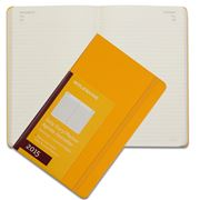 Moleskine - 2015 Daily Hardcover Large Yellow Diary
