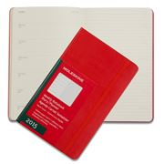 Moleskine - 2015 Weekly Notebook Hardcover Large Red Diary