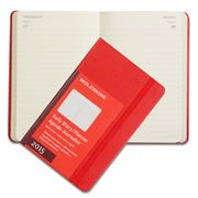 Moleskine - 2015 Daily Hardcover Pocket Red Diary