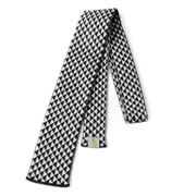 Otto & Spike - Double Negative Black & White Merino Tie