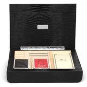 Renzo - Swing Thesius Leather Bridge Card Game Set