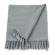 Linen & Moore - Hayman French Grey Throw Rug