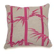 Florence Broadhurst - Bamboo Magenta Feather Cushion