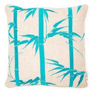 Florence Broadhurst - Bamboo Topaz Feather Cushion