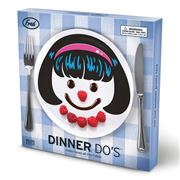 Fred - Dinner Do's Girls Plate Set 3pce