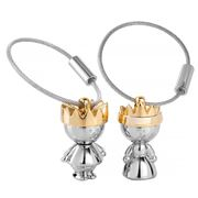 Troika - Little King & Queen Keyring Set 2pce