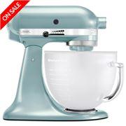 KitchenAid - Platinum KSM156 Frosted Azure Stand Mixer