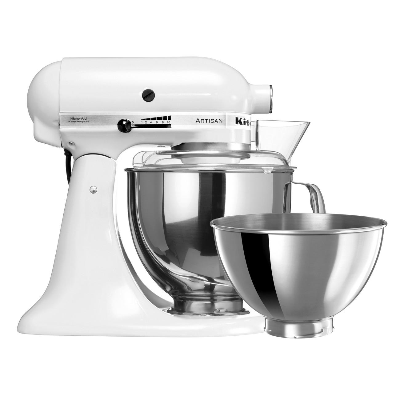 KitchenAid - Artisan KSM160 White Stand Mixer | Peter\'s of Kensington