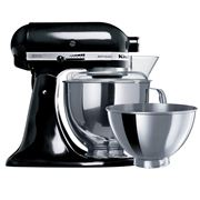 KitchenAid - KSM160 Stand Mixer Onyx Black