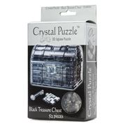 Games - 3D Crystal Jigsaw Puzzle Black Treasure Chest