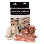 Woodlore - Aromatic Cedar Basics Set 43pce