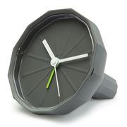 Lexon - Babylon Dark Grey Alarm Clock